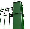 Столб на анкерное крепление в ППЛ 58х38х1.5мм 1.6м