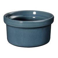 Форма порционная Emile Henry 9,5 см голубая 971028