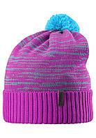 Детская зимняя шапка для девочки Reima 538020-4620. Размер 52-58.
