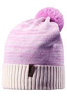 Детская зимняя шапка для девочки Reima 538020-0110. Размер 52-58.