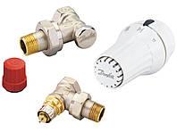Danfoss Клапан RA-N + термостатический элемент RAE + клапан запорный RLV-S прямой