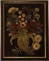 """Композиция сухие цветы и листья """"Квіти для мами"""""""