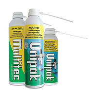 Определитель утечки газа Multitec -30 градусов 400мл Unipak