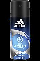 Дезодорант аэрозольный мужской Adidas Champions League, 150 мл