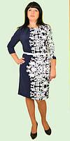 Красивое женское платье больших размеров 54-64