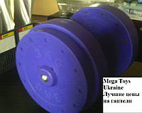 Гантели профессиональные для залов 44 кг. титан