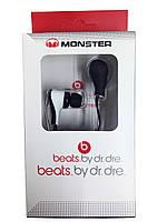 Наушники Monster Beats (копия) красно-белые самые недорогие