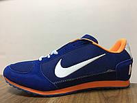 Кроссовки мужские Nike Cortez (найк кортез) синие, найк кортес