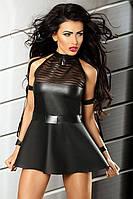 Сексуальное мини-платье под кожу Sensuality Lolitta (Лолита)