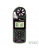 Ветромер Kestrel 4000 NV Olive (время,скорость ветра,температура воздуха,воды,снега,…влажность,точка росы,индекс жары,Информация