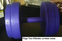 Гантели для залов, профессиональные 46 кг. титан