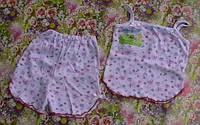 Пижама для девочки (шортики, маечка)