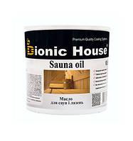 "Масло для обработки саун ""Bionic House"" 0.8л"