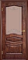 Дверь Леона ПО ,патина орех