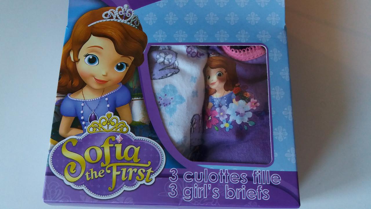 Трусы для девочки.Принцесса София