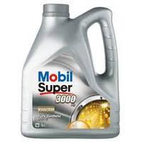 Масло моторное Mobil Super 3000 5W-40 API SN/SM (Канистра 4л), фото 1