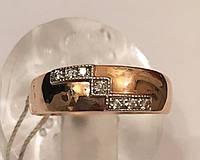 Кольцо золотое 585* арт. 3218 d, р-р 17,0