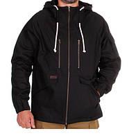 Куртка  мужская черная 100% х/б размер 3XL
