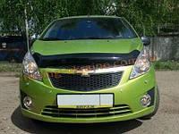 Дефлекторы капота для Chevrolet Spark Хетчбэк 2010
