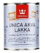 Лак Unica Akva Lakka TM Tikkurila, 0.9л