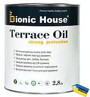 "Деревозащитное масло TERRACE OIL Strong ""Bionic House"" 2,8л"