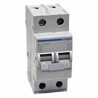 Автоматический выключатель нагрузки Hager MC220A Iн = 20 А 2п характеристика С