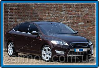 Хром молдинг Ford Mondeo (форд мондео) 2011-.. 4  шт, нерж.