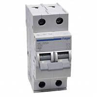 Автоматический выключатель нагрузки Hager MC225A Iн = 25 А 2п характеристика С