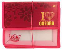 """491051 Папка для тетр.пласт. на резин В5"""" Oxford"""""""