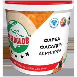 Краска акриловая фасадная универсальная  Anserglob 7 кг