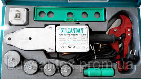 Паяльник для пластиковых труб Candan CM-03(Турция), фото 2