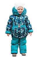 Зимний раздельный комбинезоны для девочек Снеговик