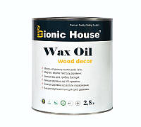 """Масло воск для внутренних работ Wax OIL """"Bionic House"""" 3л"""
