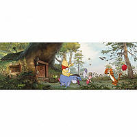 Komar 4-413 Winnie Poohs House Детские фотообои на стену «Дом Винни Пуха»