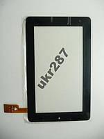Сенсор тачскрин TPC0069 VER5.0 188х114 мм 30 pin черный