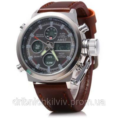Мужские армейские часы AMST 3003 Светлые