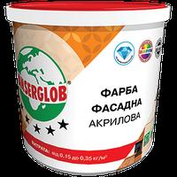 Краска акриловая фасадная универсальная  Anserglob (БАЗА Т) 14 кг