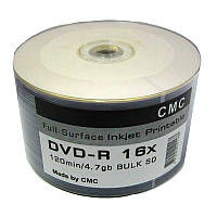 Диски DVD-R 4,7Gb 16x CMC Printable