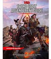 Подземелья и драконы: Побережье Мечей Руководство Приключенца (Dungeons & Dragons: Sword Coast Adventurer's Guide) настольная игра