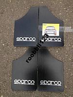 Брызговики ВАЗ 2101 2102 2103 2104 2105 2106 2107 sparco (4шт) черные