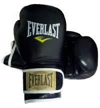 Боксерські рукавички Everlast шкіра 10,12 oz.