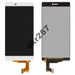 Дисплей + сенсор Huawei Ascend P8 GRA  модуль белый