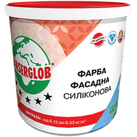 Краска силиконовая фасадная универсальная  Anserglob 14 кг
