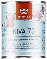 Лак Kiva Tikkurila для дерева глянцевый Кива, 0.9л