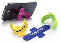 Подставка для смартфонов в виде наклейки Touch U Голубой SKU0000261, фото 1