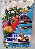 """Медный купорос, 100гр, Garden Club """"Садівник"""", Украина"""