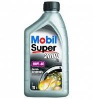 Масло моторное Mobil Super 2000x1 10W-40 API SL/CF (Канистра 1л), фото 1