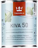 Лак Kiva Tikkurila для дерева п/гл Кива, 0.9л