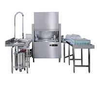 Посудомоечная машина Apach ARС 100 (1150х770х1565 мм, 50/100 кас/ч или 1800 тарелок/ч)