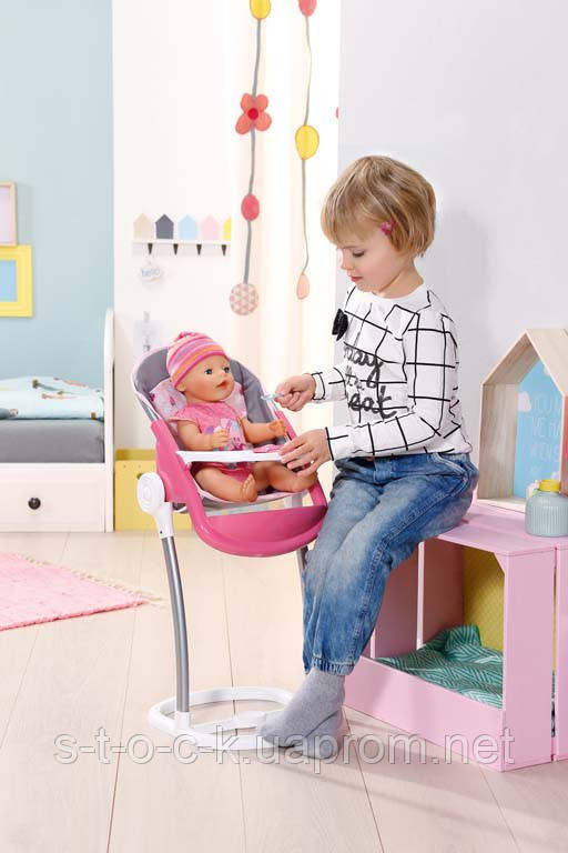 Стульчик для кормления куклы Baby Born Zapf Creation 822272